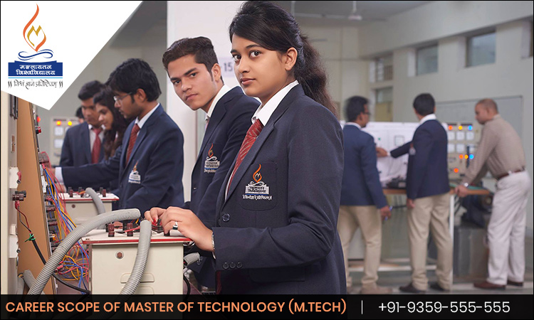 Career Scope of Master of Technology (M. Tech)