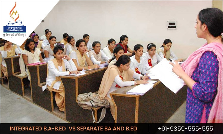 Why is Integrated B.A-B.Ed better than a Separate BA and then a B.Ed?