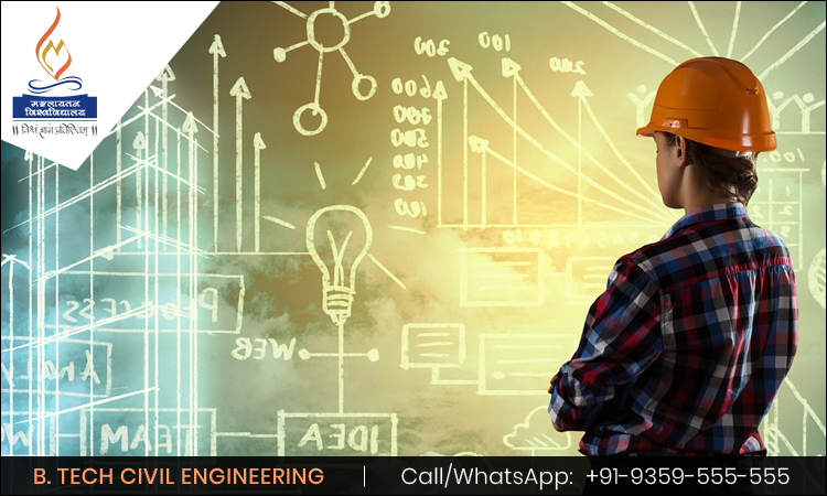 B. Tech Civil Engineering- A Core Engineering Branch That Unlocks the Doors of Rewarding Career.