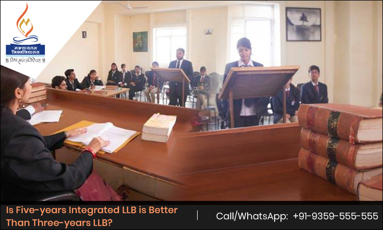 Is Five-years Integrated LLB is Better Than Three-years LLB?