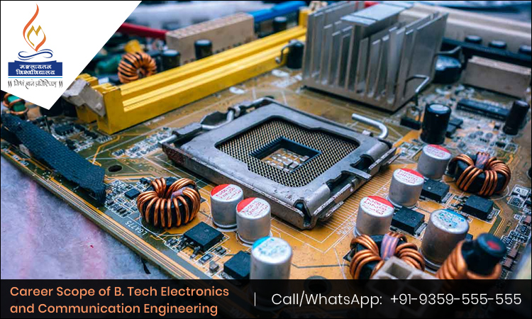 Career Scope of B. Tech Electronics and Communication Engineering