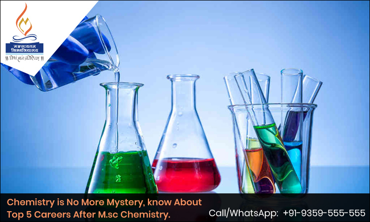 Chemistry is No More Mystery, know About Top 5 Careers After M.sc Chemistry.
