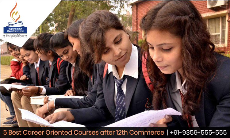 5 Best Career Oriented Courses after 12th Commerce - Admission Open