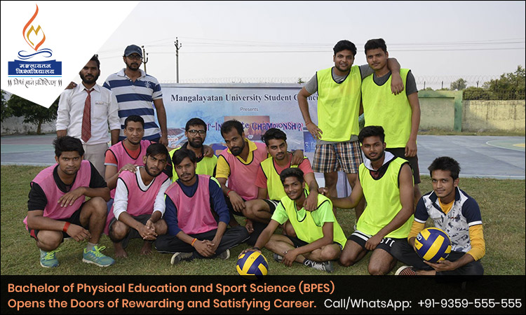 Bachelor of Physical Education and Sport Science (BPES) Opens the Doors of Rewarding and Satisfying Career.