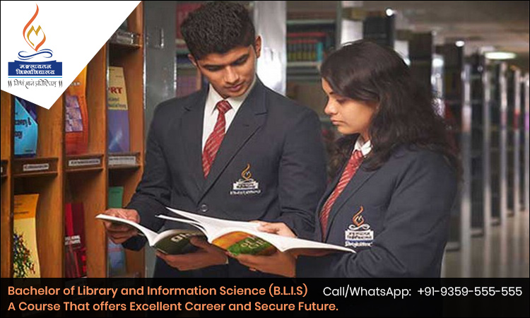Bachelor of Library and Information Science (B.L.I.S)- A Course That offers Excellent Career and Secure Future.